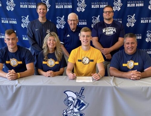 Secrist signs with Marian University