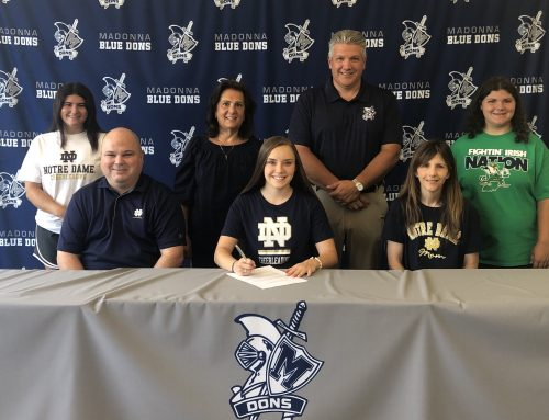 Crawford signs with Notre Dame