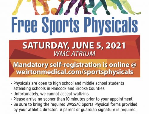 Free Sports Physicals Through WMC